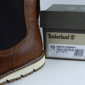 NEW Timberland Men's Britton Hill Plain Toe Orange Boot TB0A197N Size 8 US_41.5